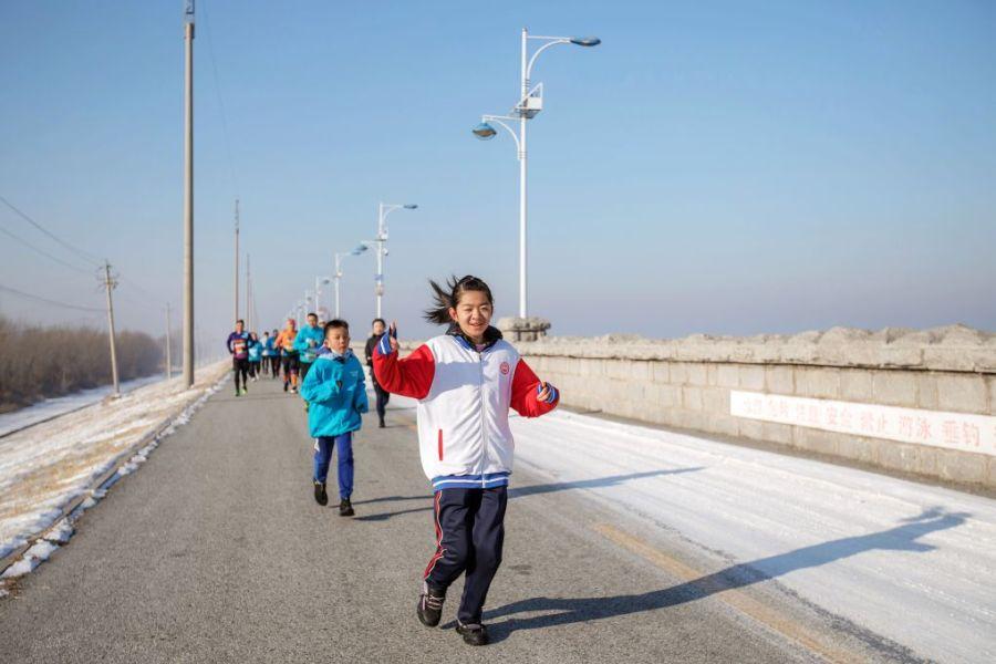 值得纪念的2021元旦迎新马拉松跑